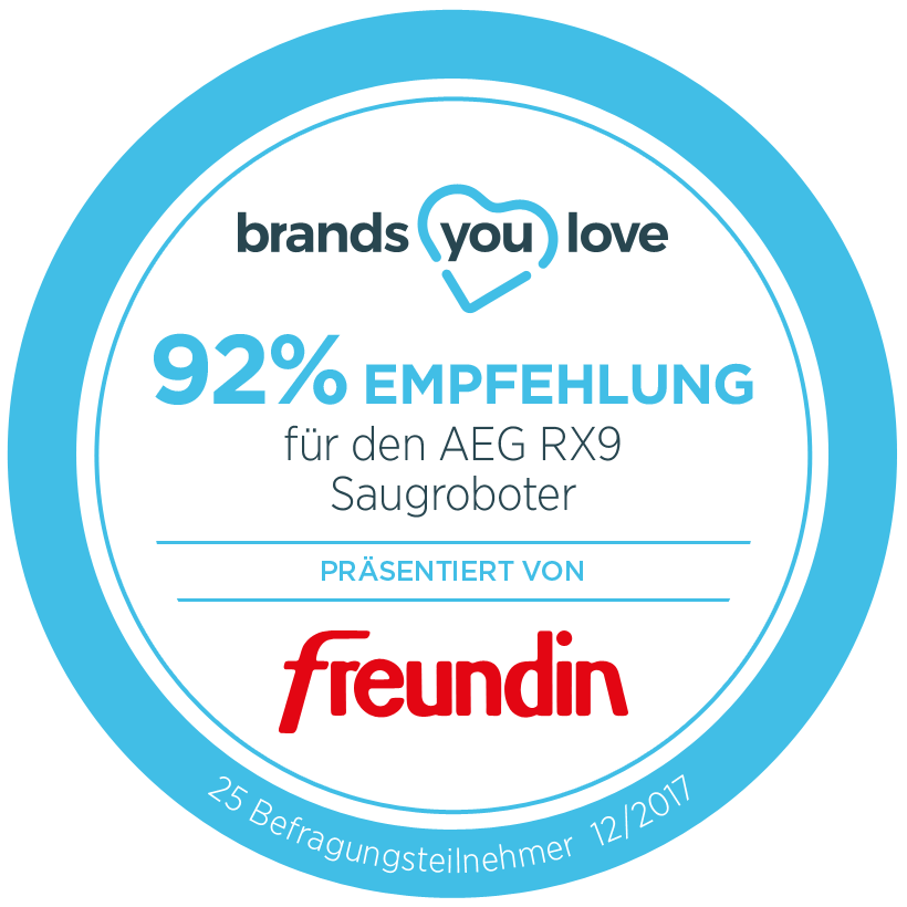 brands you love siegel AEG RX9 mit freundin